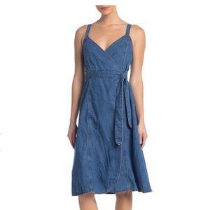 Size 4 NWT Denim Madewell Wrap Dress